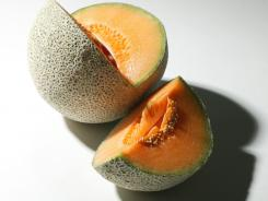 Consumers also should discard any produce  that might have come into contact with contaminated cantaloupes.