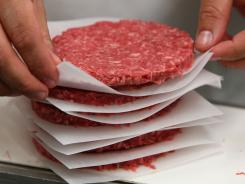 Tyson Fresh Meats Inc. is recalling about 131,300 pounds of ground beef that might be contaminated with E. coli.