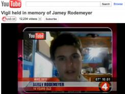Jamey Rodemeyer's death highlighted the risk of creating an icon at the price of glamorizing suicide as an option for other bullied or attention-seeking teens.