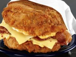 In a country where more than two-thirds of the population is overweight or obese, food choices are often made on impulse, not intellect. That explains the popularity of KFC's Double Down, a sandwich of bacon and cheese slapped between two slabs of fried chicken.