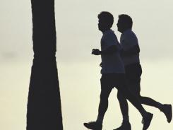 Vigorous exercise like jogging can reduce heart attack risk by 22%.