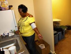 Vickie Webb lived in the projects in Durham, N.C., for several years before a housing agency helped relocate her and her husband to a better neighborhood.