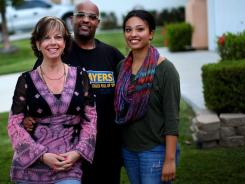 Amy, left, and Jamie Wise of Chula Vista, Calif., have been married for 18 years. Their daughter, Tatiana, is 17.