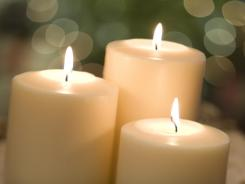 Scented candles can trigger allergic reactions in susceptible people.