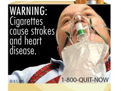 In the most significant change to U.S. cigarette packs in 25 years, the FDA's new warning labels depict in graphic detail the negative health effects of tobacco use.