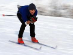Winter sports require  great balance, and they can do a number on your knees, so tackle a few exercises before you head for the hills.