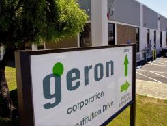 Geron Corp., a pioneer in stem cell research that has been testing a spinal cord injury treatment, said that it's halting development of its stem cell programs to conserve funds.