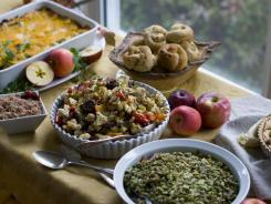 Holiday feasts can cause trouble for the estimated 30 million Americans with gastroesophageal reflux disease (GERD), but there are things they can do to be comfortable, experts advise.