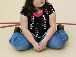 Kindergarteners today are heavier than kids brought up in the 1970s and '80s and appear to be on the road to becoming overweight and obese.