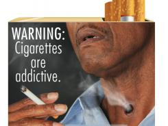 the most significant change to U.S. cigarette packs in 25 years, the FDA's the new warning labels depict in graphic detail the negative health effects of tobacco use.