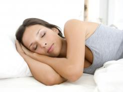 People who met national exercise guidelines reported better sleep and less daytime fatigue than those who didn't.