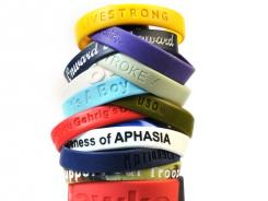 Lance Armstrong's LIVESTRONG bracelet inspired a trend in which everything from a personal cause to your favorite sports team can be worn on your wrist.