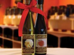 Michigan-based Fustini's specializes in olive oils and vinegars imported from around the world. Out of hundreds of possible pairings that they sell, they've package the four most popular duos for easy holiday gift-giving.