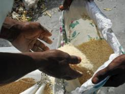 For $60 to Partners in Health, help a Haitian family boost food production, ending malnutrition.