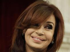 Argentina's president, Cristina Fernandez, recently had her thyroid removed for what doctors thought was a cancerous nodule. After the operation, they learned the mass was not cancer.