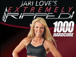 Simple moves and multiple repetitions punctuate Jari Love's workouts, which require 3- to 10-pound dumbbells.