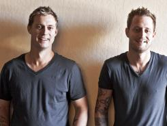 Chefs (and brothers) Bryan Voltaggio, left, and Michael Voltaggio are as much alike as they are different.