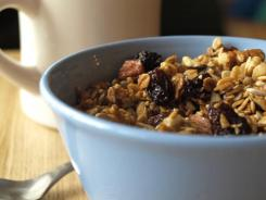 Homemade granola by Kim O'Donnel.