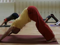 """Yoga of any type is physically challenging, and the heated environment of hot yoga makes the practice especially demanding,"" Zotos said."
