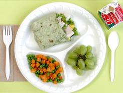 New nutrition standards will slash sodium and limit calories in school lunches.
