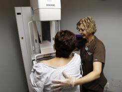 The number of Americans being screened for colon, breast and cervical cancers still fall below national targets, federal health officials said.