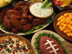 Super Bowl parties often include an array of foods that pack a lot of calories and sodium, but that doesn't have to be the case.