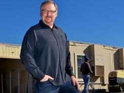 "Pastor Rick Warren has lost 60 pounds and hopes to lose 30 more this year. ""I've always been a big guy,"" he says."