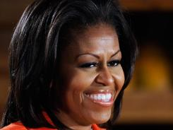 First lady Michelle Obama and Pentagon officials plan to announce the effort Thursday afternoon during a visit to Little Rock Air Force Base in Arkansas. The military has been experimenting with healthier foods in a pilot program there.