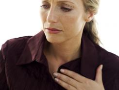 Forty-two percent of women never experience the classic heart attack symptom of chest pain or pressure, compared with 31% of men, the study says.