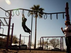 Giving kids space on the playground promotes exercise.