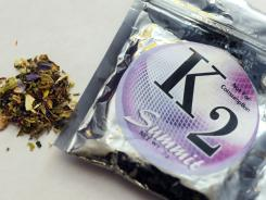 K2 is a concoction of dried herbs sprayed with chemicals.