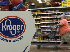 Kroger Co., the nation's largest traditional grocer with 2,435 supermarkets in 31 states, also said it will stop buying the beef.