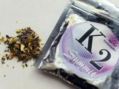 K2, which is now banned in New York, is a concoction of dried herbs sprayed with chemicals.