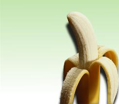Consuming fiber-rich fruits, like a banana, can make you feel full longer.
