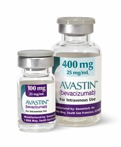 Avastin, a drug used in the treatment of multiple cancers. According to a new study cancer patients who combine Avastin and chemo are 50% more likely to die from their treatment  rather than their disease.