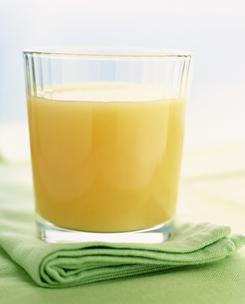 Orange juice is often fortified with vitamin D and sometimes with calcium, too.