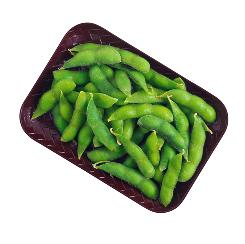 Soy pods (edamame). Isoflavones in certain soy products contain antioxidants found to be helpful against breast cancer.