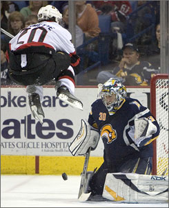 Also worth noting is the guy in the Sabres jersey who is clearly bored by this play.