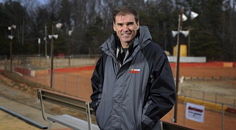 "Ray Evernham presides over East Lincoln Speedway, a short track in rural North Carolina that he purchased several months ago. To Evernham, the dirt speedway is ""Americana at its best ... like going to a Friday night high school football game in Texas."""