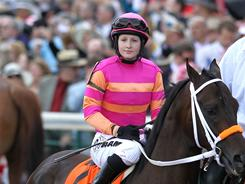 Rosie Napravnik rode Pants on Fire to a ninth-place finish, becoming the highest-finishing woman in Kentucky Derby history.